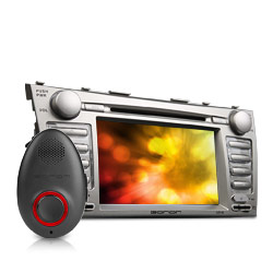 Voice Command Enabled Car DVD GPS