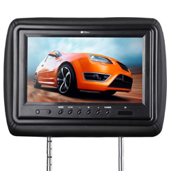 The Best Headrest For Your Car DVD Player