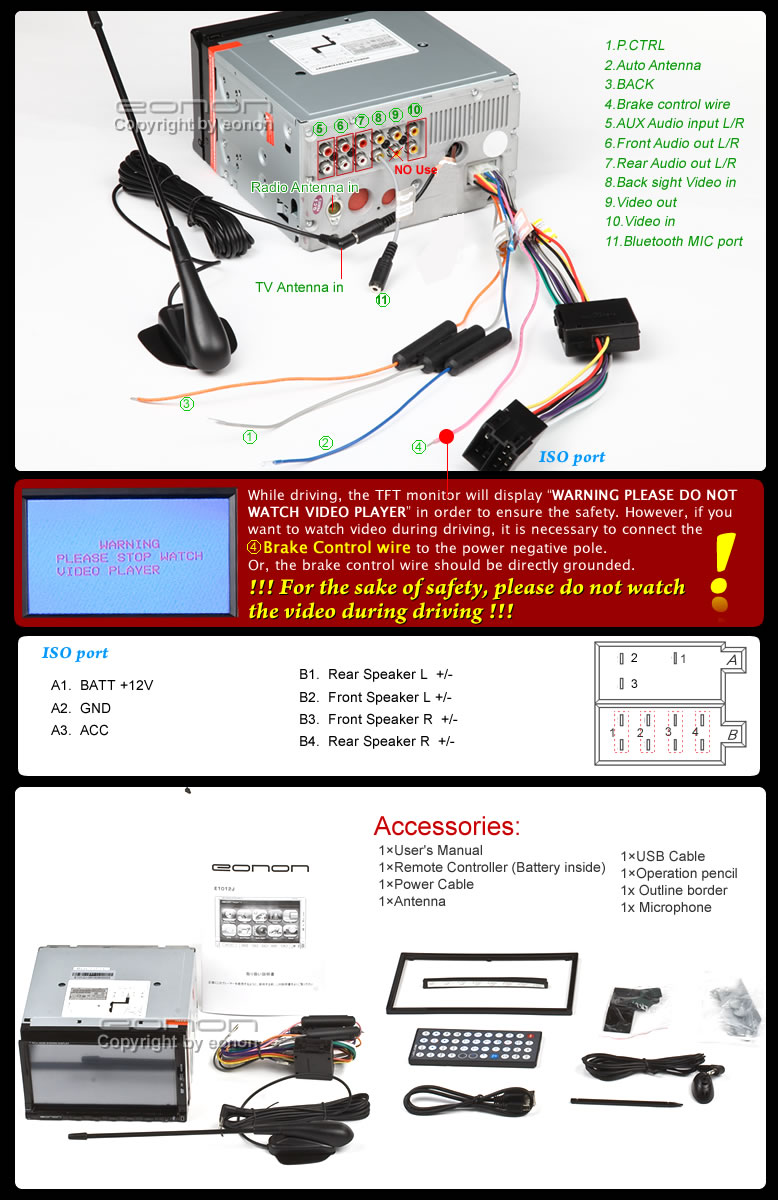 Eonon D5150 Wiring Diagram Question About Android Get Free Image Car Headrest Dvd Player Vauxhall Astra