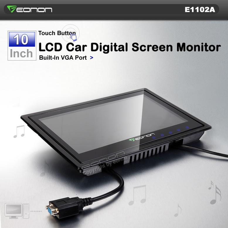 10 Inch car monitor