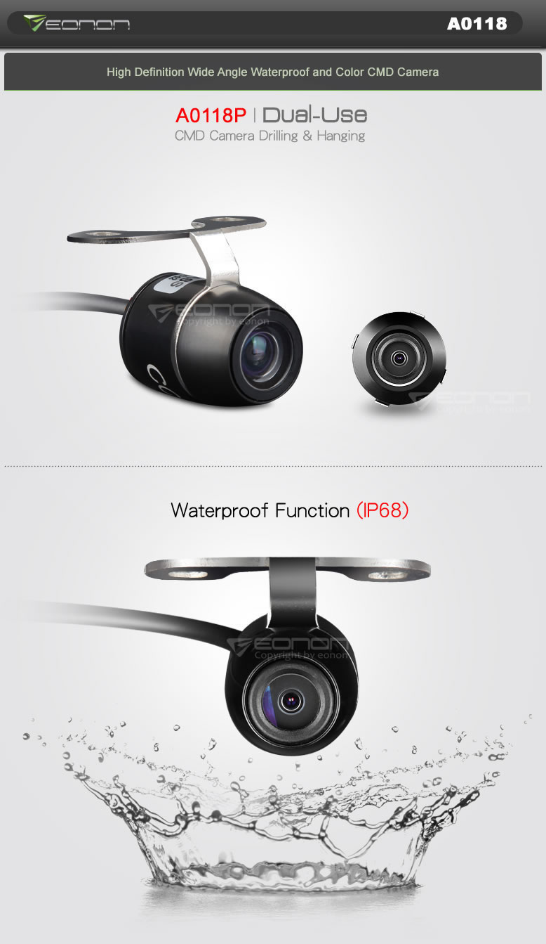 high definition wide angle camera