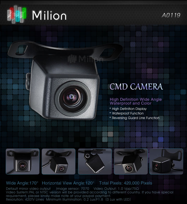 CMD camera