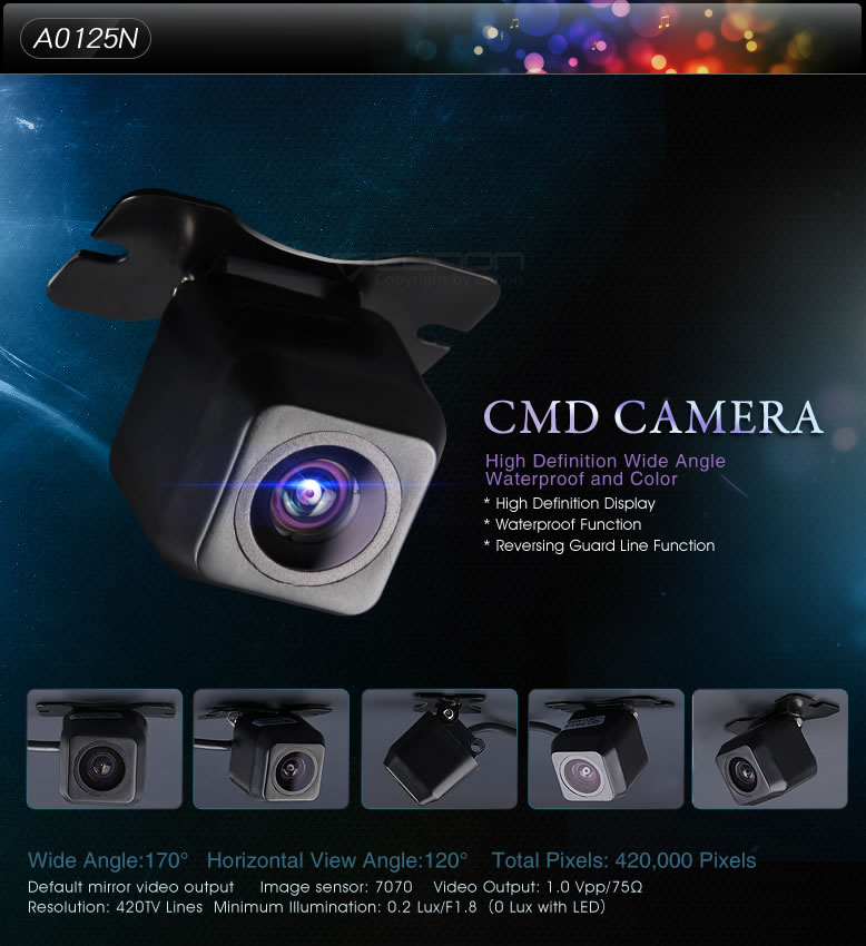 CMD camera,waterproof camera