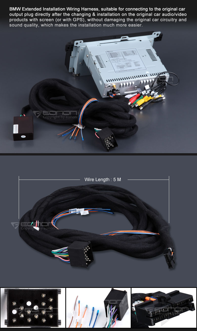Eonon A0567 Specific Bmw Installation Tds Of Drinking Water In Ppm D5150 Wiring Diagram Harness Solutions A0566 02