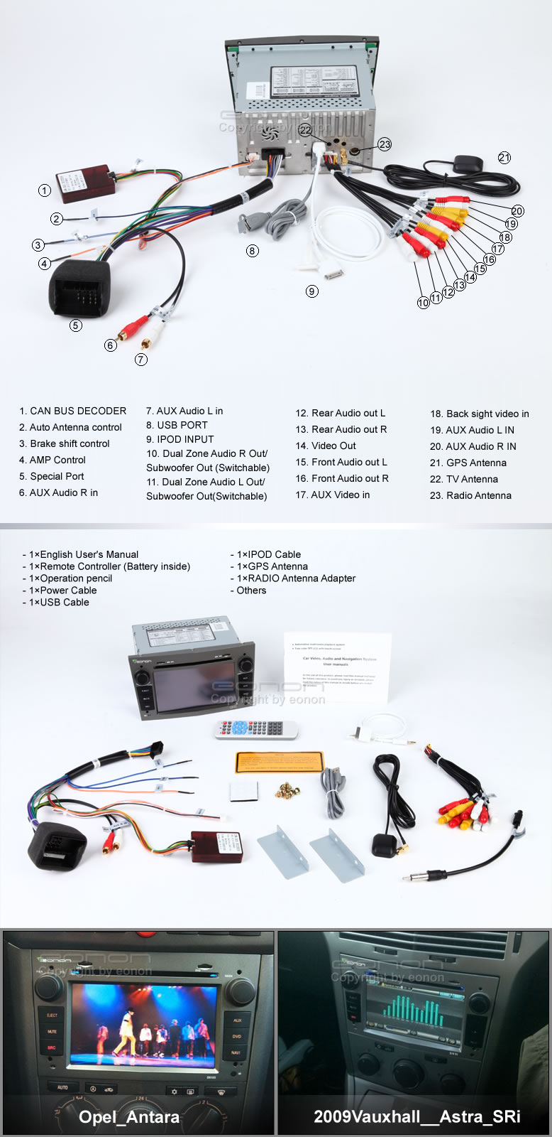 Vauxhall Car Dvd Player Group Buy Eonon D5108z D5107 D5103the 5th Wiring Diagram Round Archive