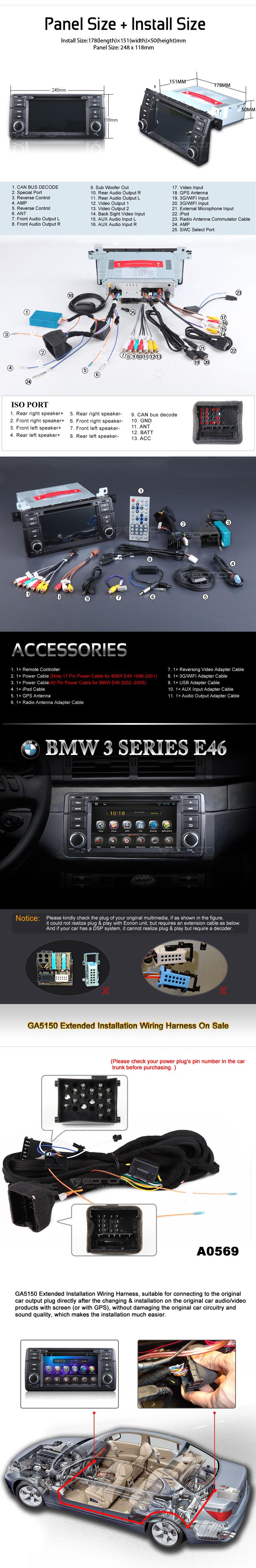 New Eonon Android Ga5150 Bmw Car Dvd Released Page 20 E46fanatics D5150 Wiring Diagram Http Eononcom Userfiles Image 06