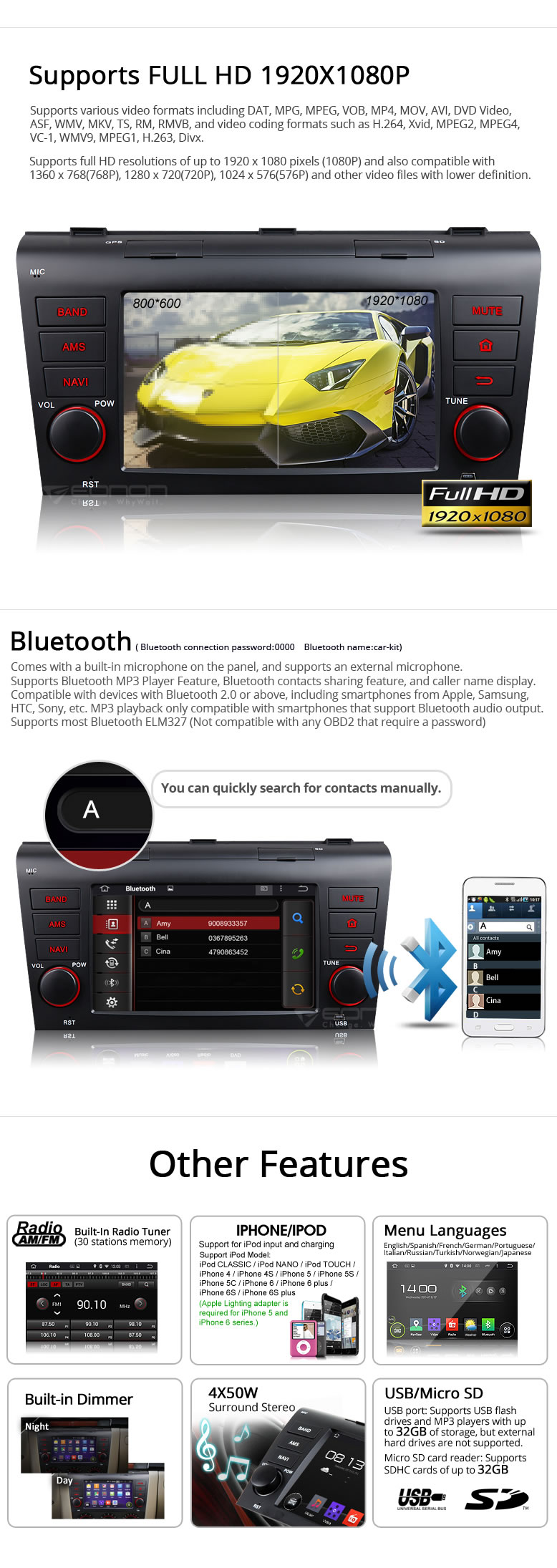 mazda 3 navigation,car dvd gps,car dvd,Android Car GPS