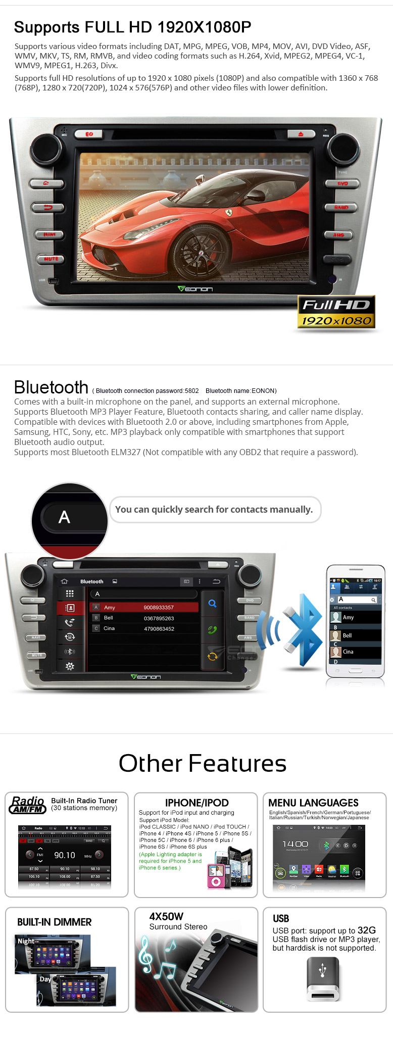 Mazda 6 Radio Ausbauen Auto Bild Idee 2008 Obd2 Wiring Diagram Eonon Ga5199f Navigation Android Car Dvd