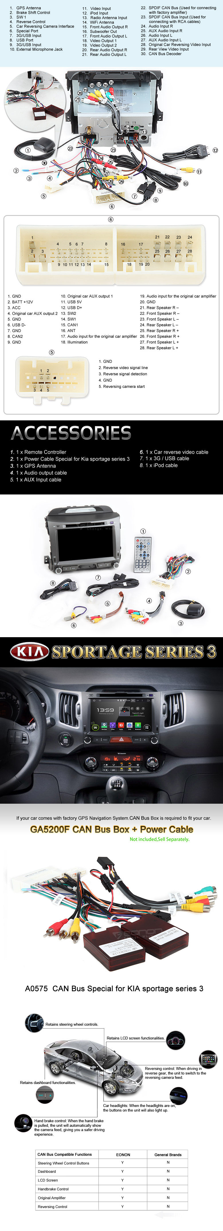 Kia android car dvd gps,android car stereo,car dvd player