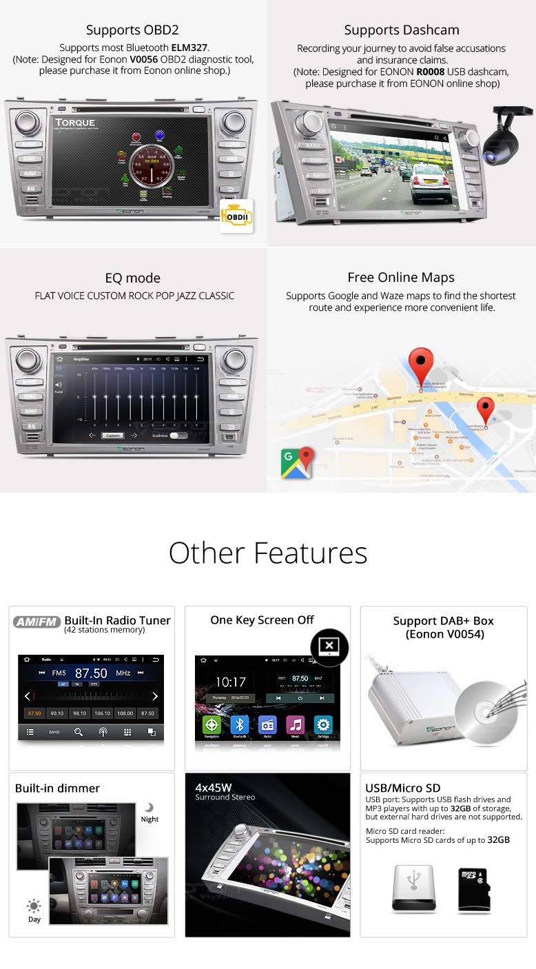 toyota camry gps,car dvd,android car stereo