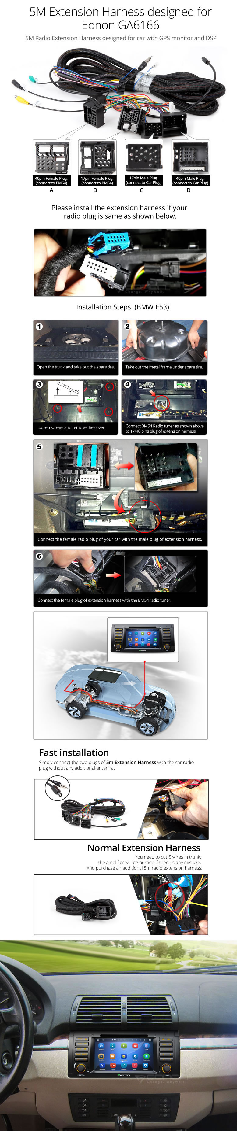 User Manuals For Eonon Car Dvd Android Stereo 7767514 Wiring Diagram Installations Manual