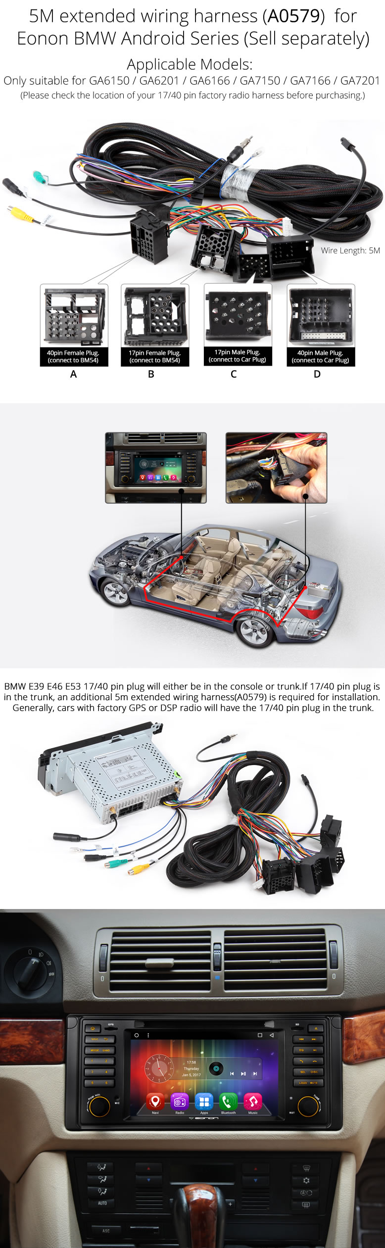 GA7201 06 android vehicle specific gps ga7201 Wiring Harness Diagram at aneh.co