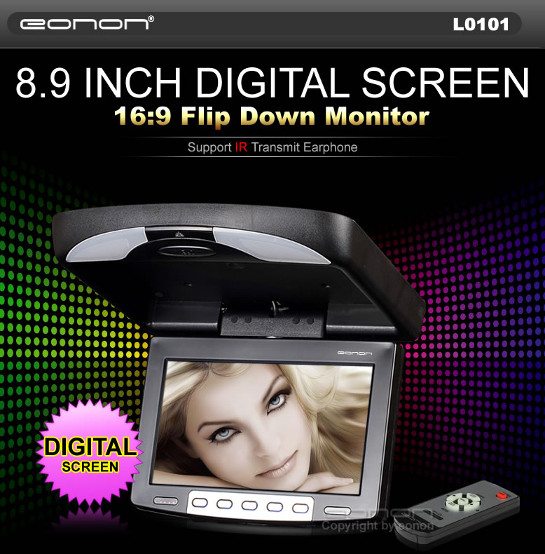 "video monitor for a camcorder? 12""-screen portable DVD&TV players"