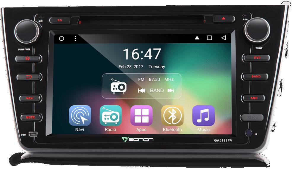 Eonon Ga5198f6 Mazda 6 Android 6 0 Car Gps Mazda 6 Android Navigation Mazda 6 Car Gps