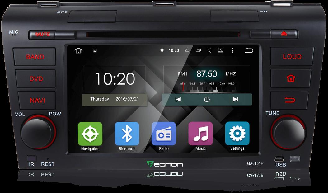 Eonon GA6151F   Mazda Android 5.1 Car DVD   Mazda 3 Navigation ...