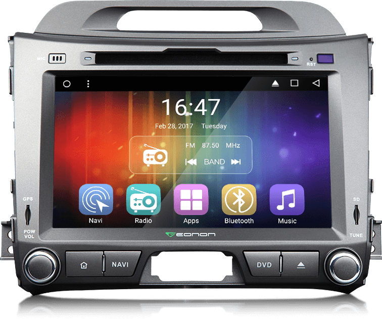 KIA Sportage Series 3 Android 6 0 Quad-Core Multimedia Car