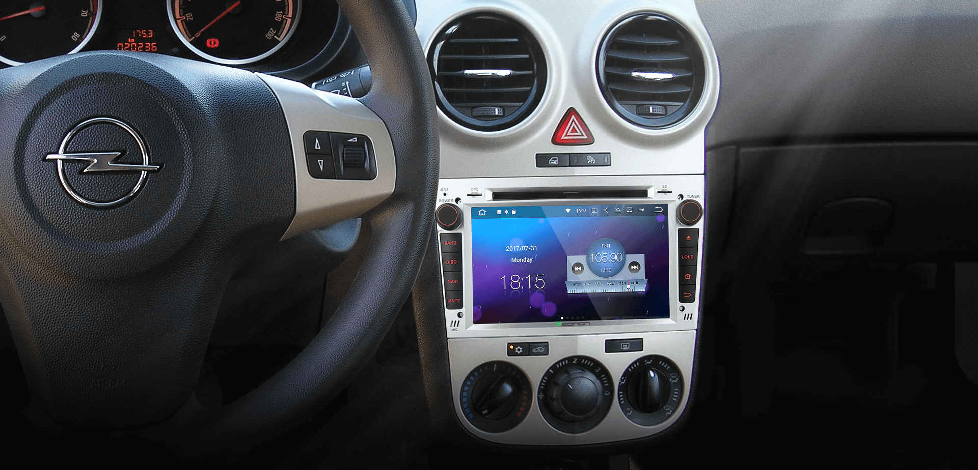 Eonon Ga8155 Opel Vauxhall Holden Android 71 2gb Ram In Car Double Din Wire Diagram Supports Usb Flash Drive Mp3 Player Micro Sd Card With Up To 64gb Of Storage