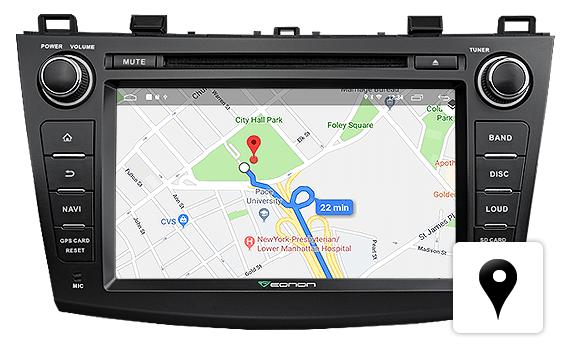 Eonon GA9163K | Mazda 3 2010-2013 Android 8 1 2GB RAM & Quad