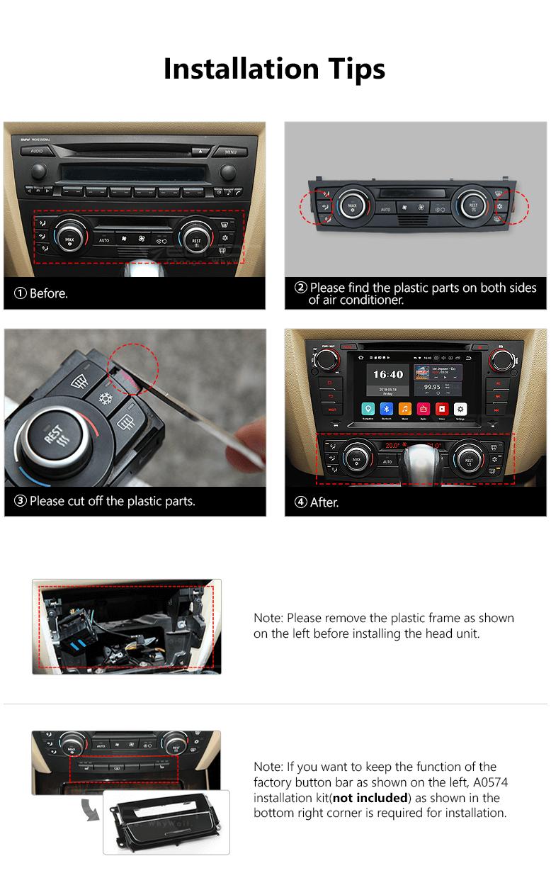 Eonon GA9165B | BMW/E90/E91/E92/E93 Android 8 0 Car DVD