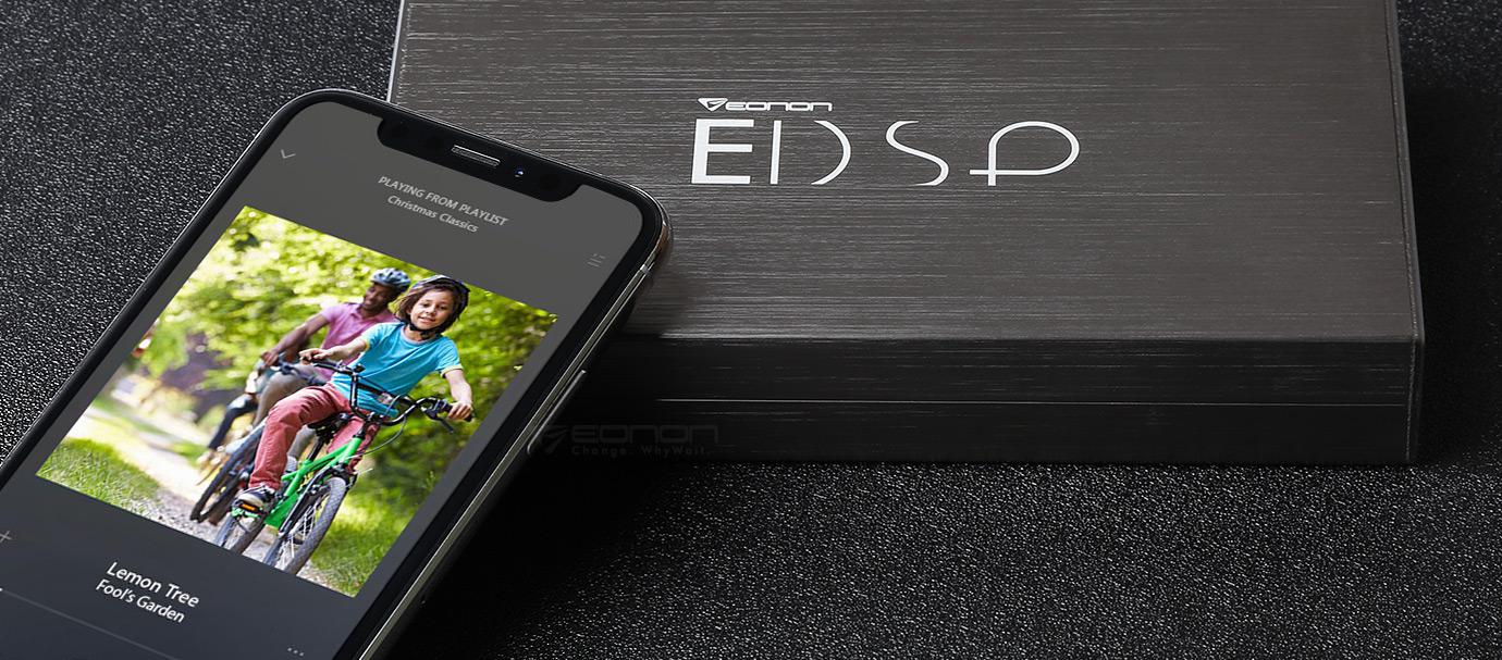 Eonon V0057 | Car Audio DSP Class-D Amplifier 6-channel