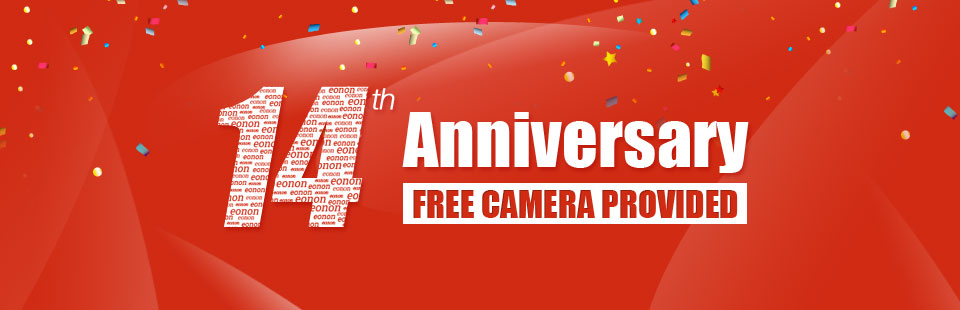 Let's Celebrate Eonon 14th Anniversary with Free Gifts!