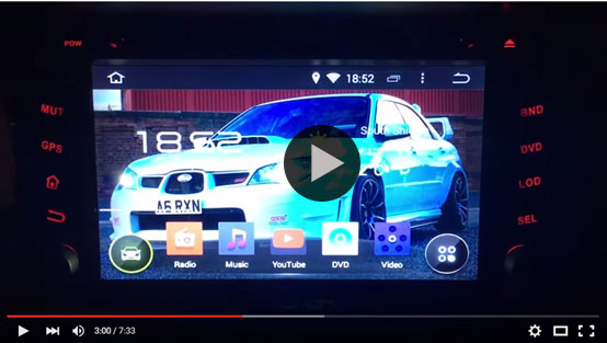 Full Video Review of the 2 DIN King G2110F Android 4.4 Car GPS & Free DVR Provided