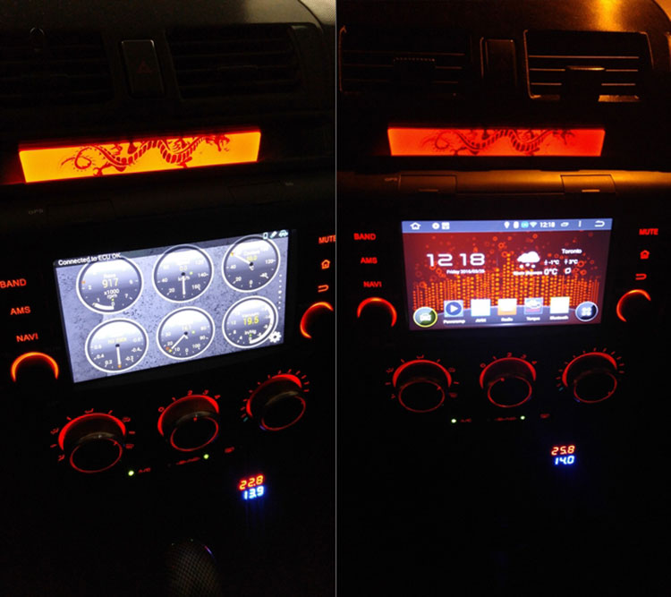 Unique Eonon GA5151W Mazda 3 Android Car GPS Installation Pictures &Free Camera Provided