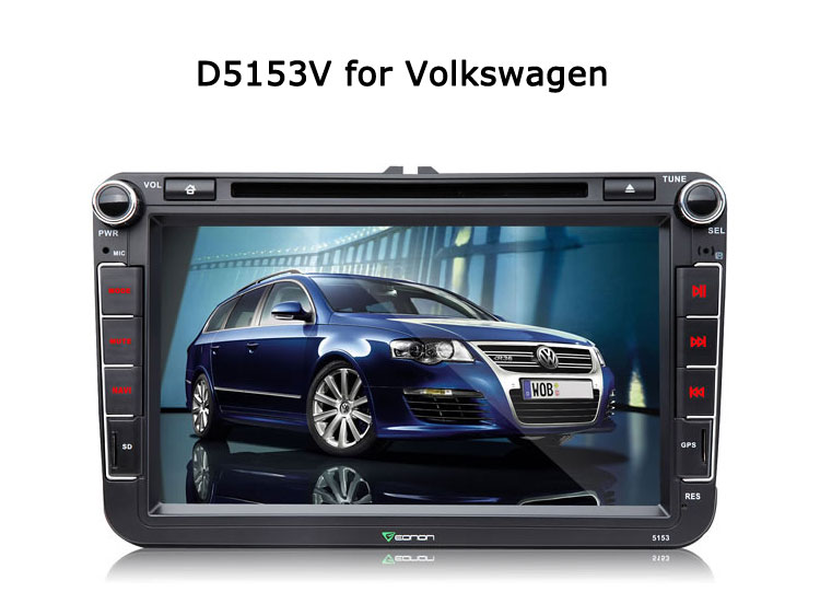 New Specific GPS D5153V for Volkswagen Released for 2016 New Year!