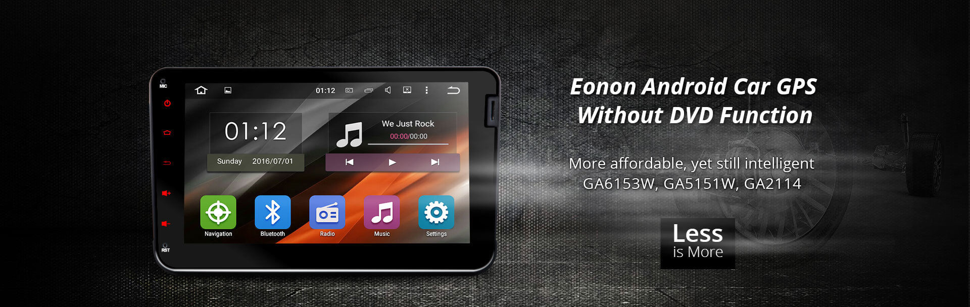 Eonon Android 4 4 Quad Core Car Gps Without Dvd Function