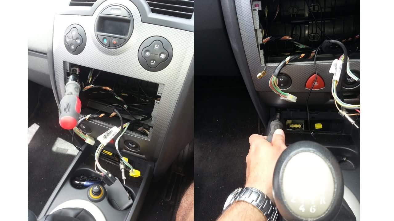 Eonon D5175 Installation Pictures From Our Fan Renault Megane Ii Wiring Diagram Car Model 2004 X84 Dynamique Luxury Tuner List Views 4748