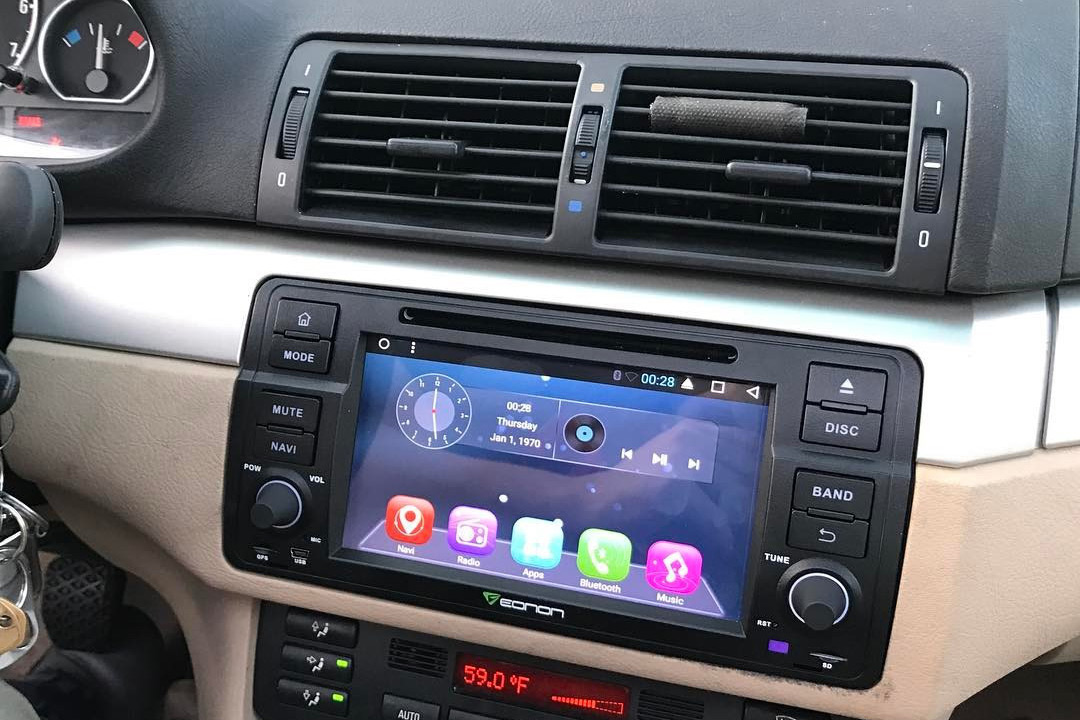 Vehicle Specific Android Car Stereo For Bmwrheonon: 2007 Bmw 328i With Double Din Radio At Gmaili.net