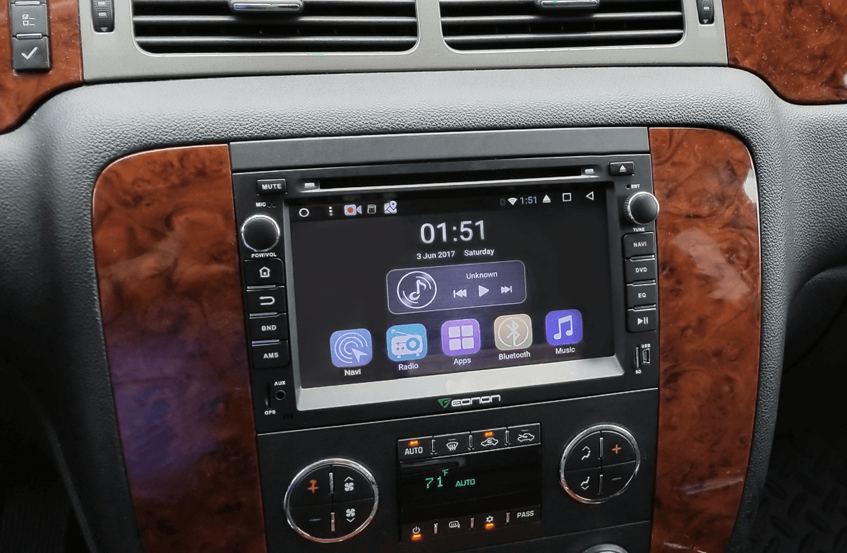 Vehicle Specific Android Car Stereo for Chevrolet & GMC