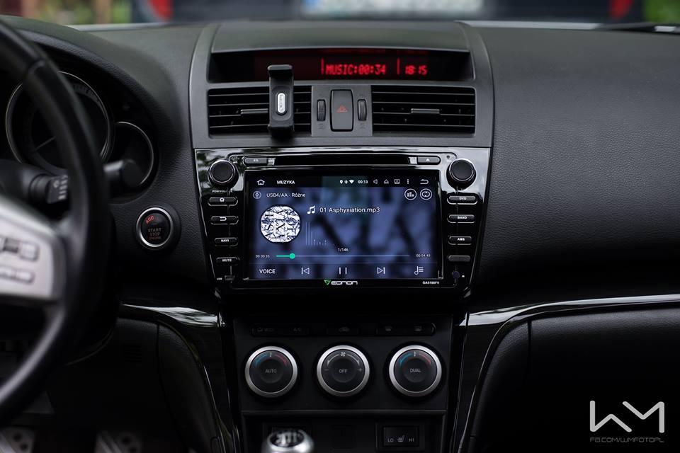 Mazda 6 2007 Radio Upgrade