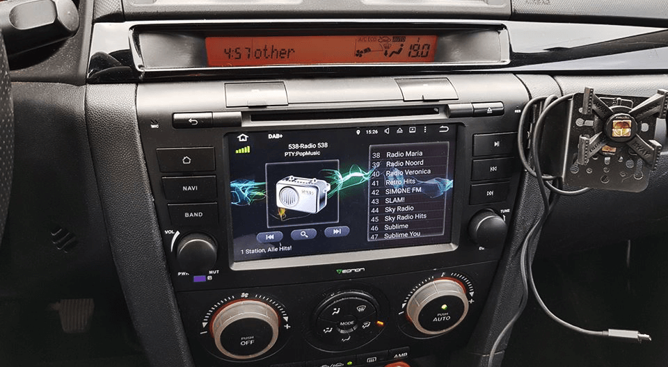 Vehicle Specific Android Car Stereo For Mazdarheonon: Mazda 6 Touch Screen Radio Kit At Elf-jo.com