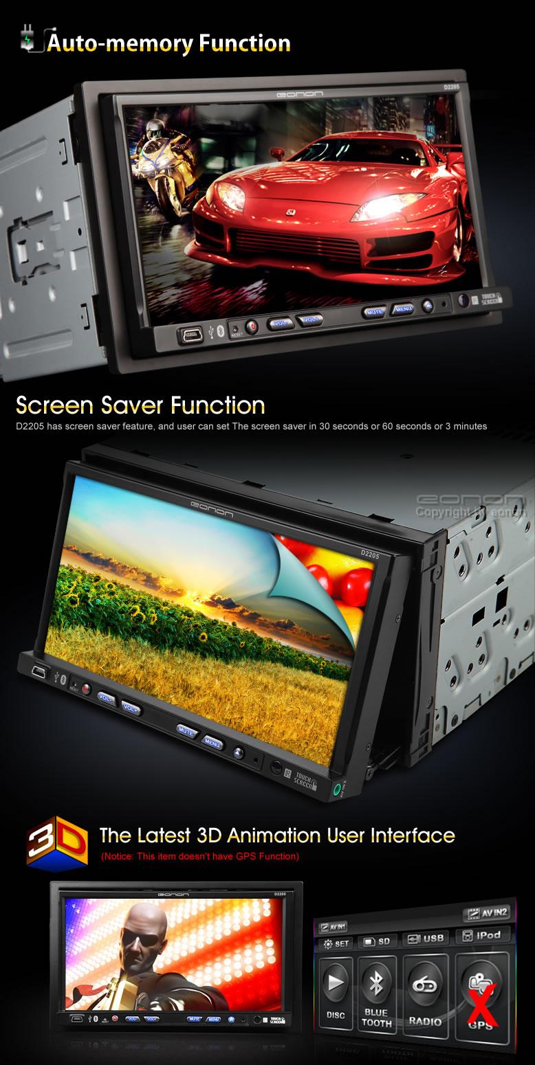 EONON Car DVD Player D2205