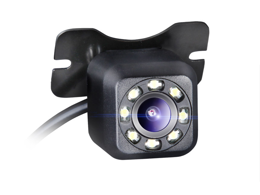 8 LED Night Vision Dustproof Waterproof HD Backup Camera