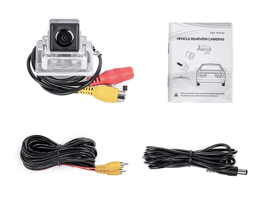 Eonon Mercedes-Benz C-class W204 High Definition Display 170° Wide Angle IP 68 Waterproof Backup Camera