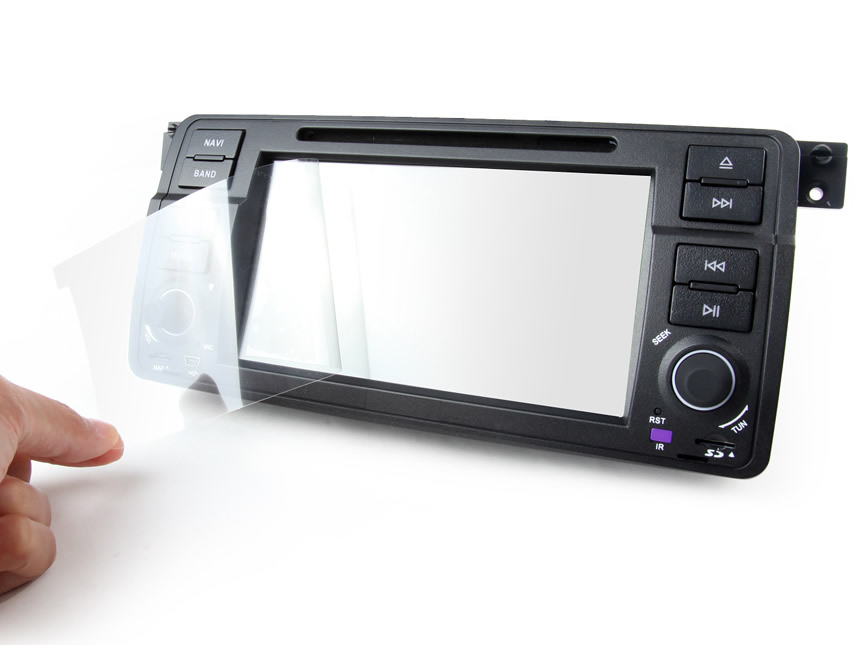 Anti-glare Screen Protective Film for 7-inch Car Navigation Device