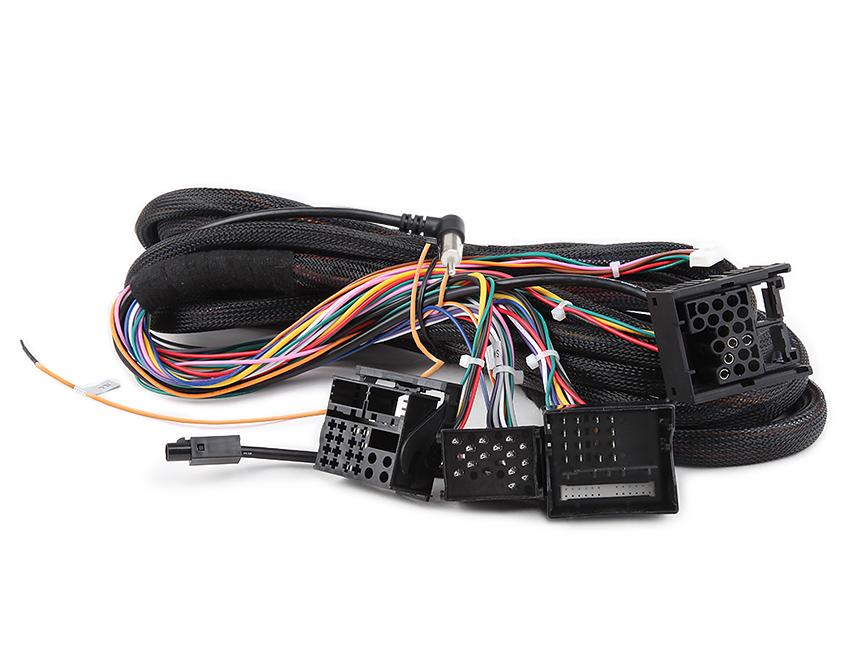 BMW E46/ E39 / E53 17 pin+40 pin Extended Installation Wiring Harness for GA6150F/GA6166F/GA6201F/GA7150A/GA7201A/GA9201A/GA9166A/GA9150A