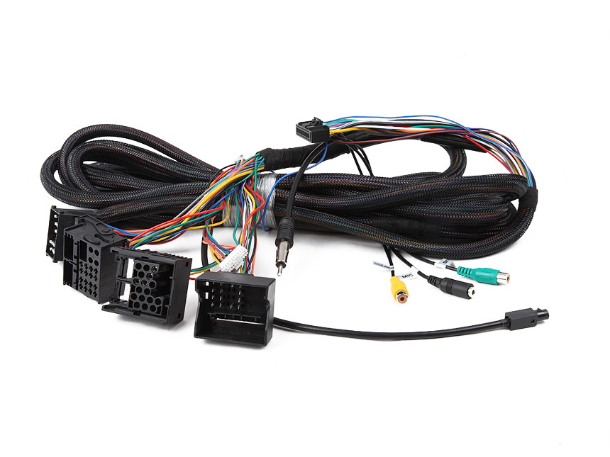 BMW E46/ E39 / E53 17 pin+40 pin Extended Installation Wiring Harness for GA7150 /GA6150 / GA6166 / GA6201