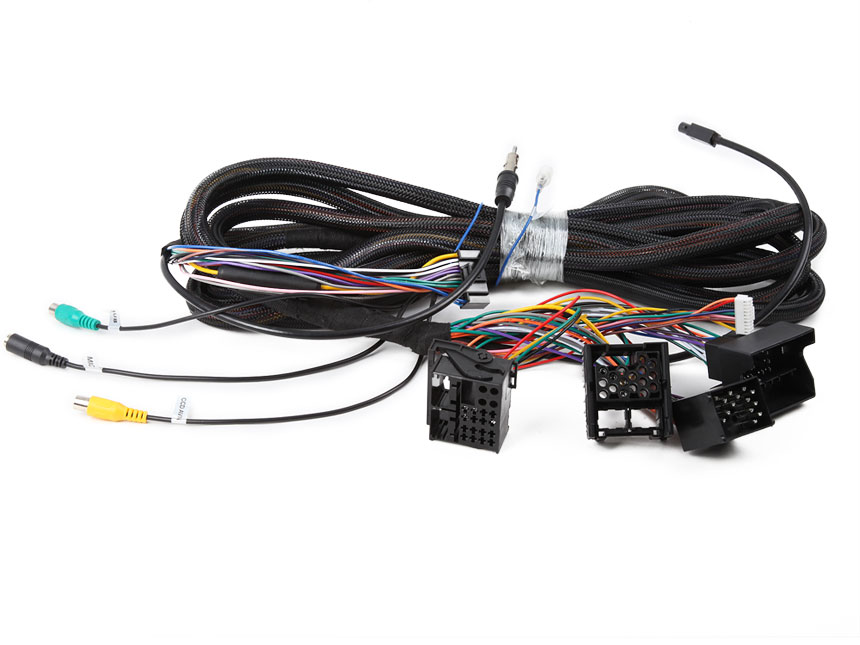 17 Pin + 40 Pin Wiring Harness Only for Eonon GA9150KW, GA8150A, GA8201A, GA8201, GA8166,  GA7150, GA7201, GA7166 Android Car Stereos