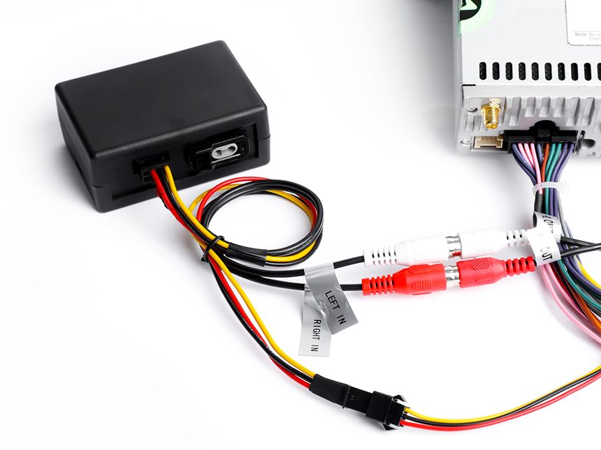 Optical Fiber Decoder Box  Designed for BMW E90/E91/E92/E93