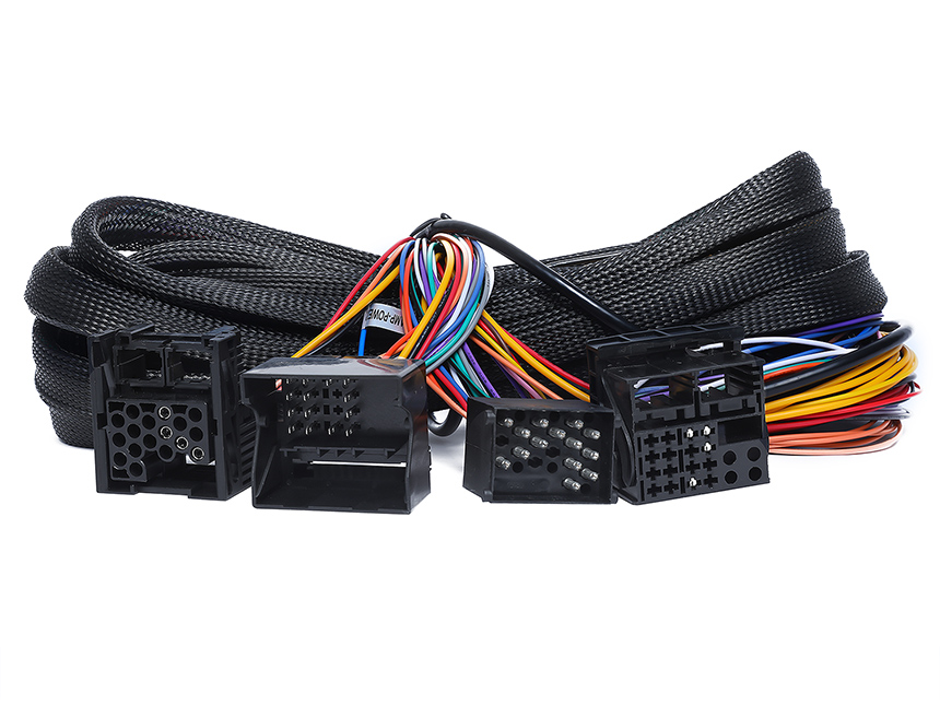 bmw e46/e39/e53 17 pin + 40 pin extended installation wiring harness for