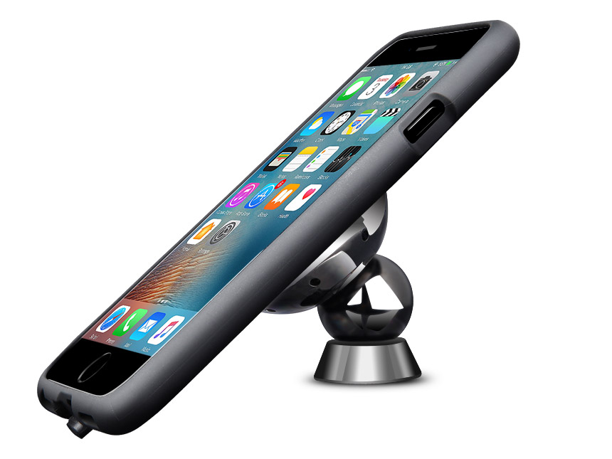 Magnetic Qi Wireless Charging Car Mount for iPhone7
