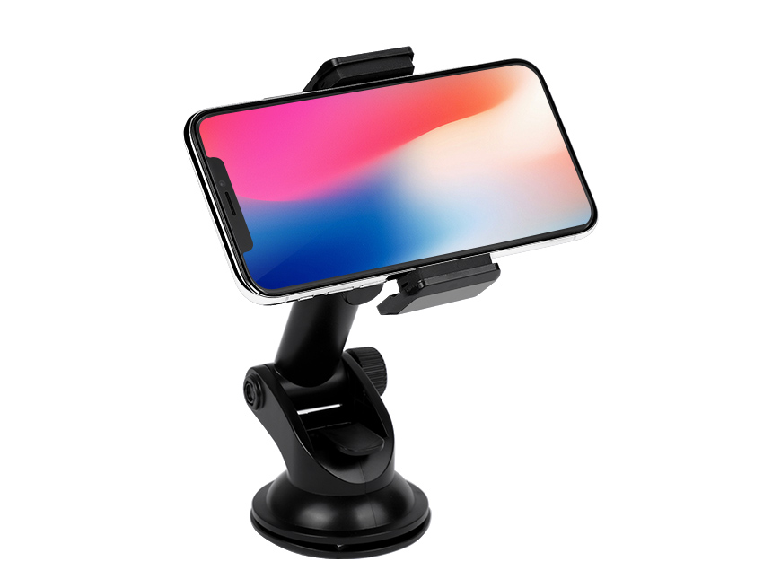 Qi Wireless Fast Charger Car Mount with Automatic Infrared Sensor