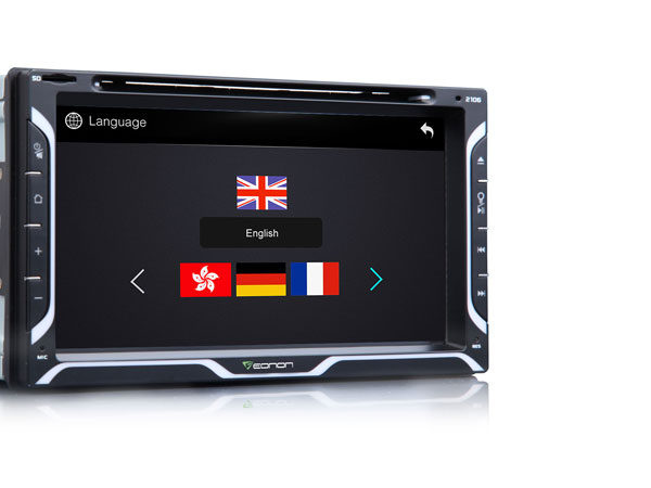 The Flash – 2-DIN 6.95″ Digital Touch Screen Car DVD Player with Steering Wheel Control
