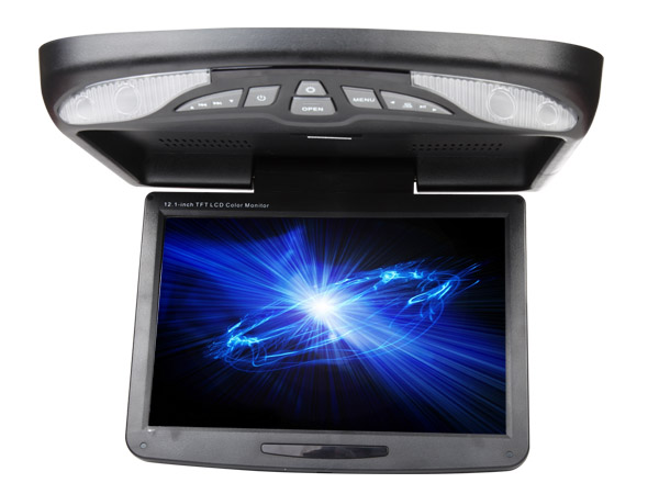 12.1″ Digital Screen Flip Down Car DVD Player