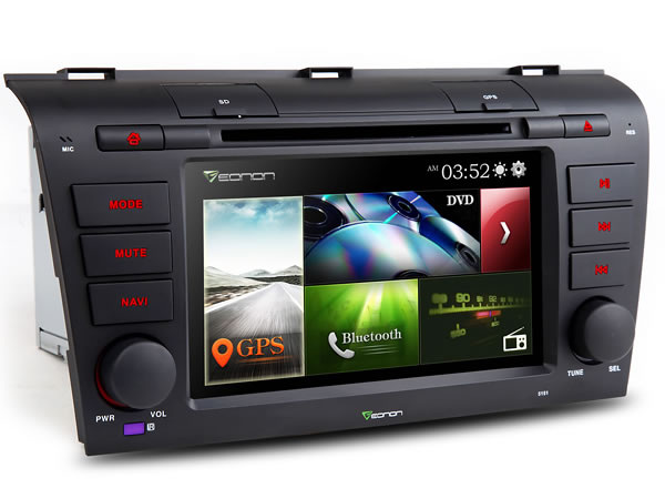 Mazda 3 2004-2009 7″ Digital Touch Screen Multimedia Car DVD GPS