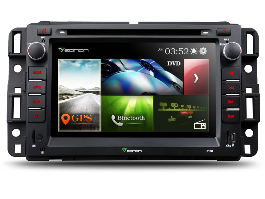 Chevrolet and GMC 7″Digital Touch Screen Multimedia Car DVD GPS