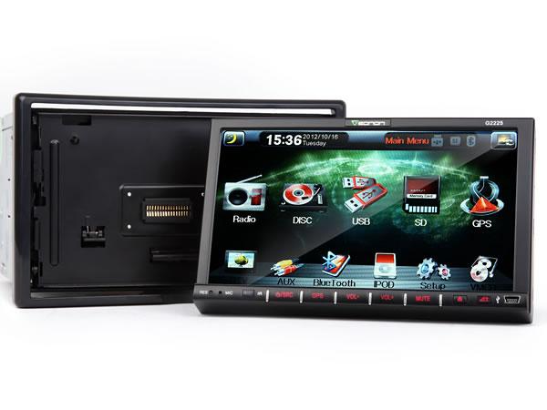 eonon g2225 car gps car dvd gps 2 din car gps dvd. Black Bedroom Furniture Sets. Home Design Ideas